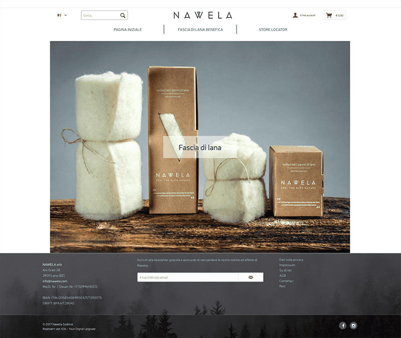 Nawela developed by 426 Agency