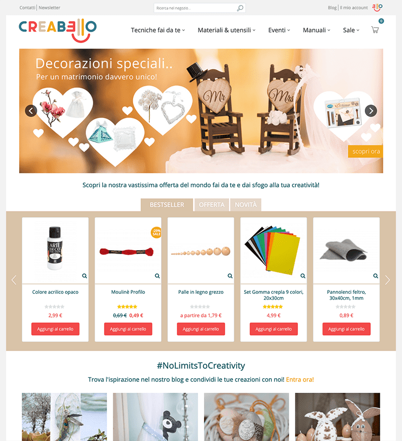 Creabello developed by 426 Agency