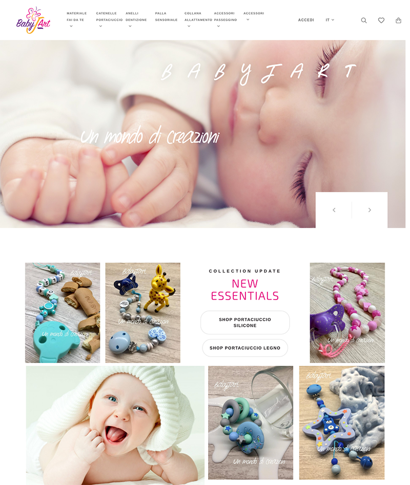 Baby J-Art developed by 426 Agency