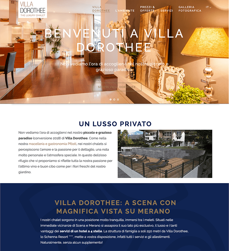 Villa Dorothee developed by 426 Agency